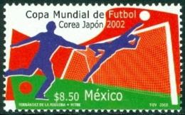 MEXICO 2002 FOOTBALL WORLD CUP AT JAPAN-KOREA** (MNH) - Mexico
