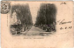 2VF 413 CPA - ARLES - LES ALISCAMPS - Arles
