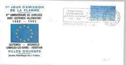 POSTMARKET 1992 FRANCIA - European Ideas