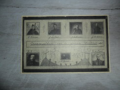 Origineel Knipsel ( 1174 ) Uit Tijdschrift : Gesneuvelden Van Werchter - Soldaten Soldaat Oorlog 1914 -'18 - Vieux Papiers