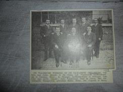Origineel Knipsel ( 1194 ) Uit Tijdschrift :  Hey - Kruis  Heikruis  1913 - Vieux Papiers