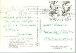 POSTMARKET ESPAÑA  TORCH  OLIMPYC - Verano 1968: México