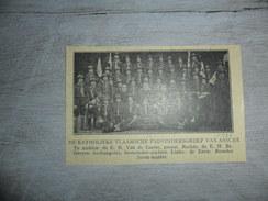 Origineel Knipsel ( 1219 ) Uit Tijdschrift :  Scouts  Scout  Padvinderij  Assche  Asse  1920 - Vieux Papiers