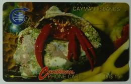 CAYMAN ISLANDS - GPT - CAY-3B - Hermit Crab - 3CCIB - $15 - Used - Cayman Islands