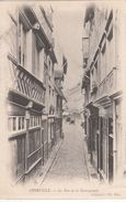 Cp , 80 , ABBEVILLE , La Rue De La Haranguerie - Abbeville