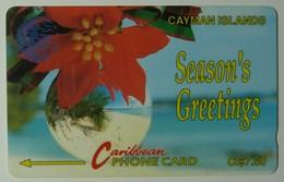 CAYMAN ISLANDS - GPT - CAY-4A - Season's Greetings 92 - 4CCIA - $7.50 - Used - Cayman Islands