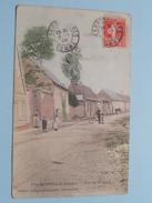 FRAMERVILLE Rue De PROYART ( Lebrun Horloger-Photographe ) Anno 1909 ( Voir Photo ) ! - Peronne