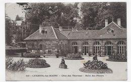 (RECTO / VERSO) LUXEUIL EN 1923 - N° 615 - COTE DES THERMES - BAIN DES FLEURS - BEAU CACHET - CPA VOYAGEE - Luxeuil Les Bains