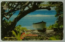 CAYMAN ISLANDS - GPT - CAY- 6B - Boat On Beach - 6CCIB - $15 - Mint - Cayman Islands