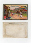 CHROMO Chocolat Klaus Postes Universelles Vénézuéla Timbre Facteur Habits Traditionnels Drapeau - Chocolat