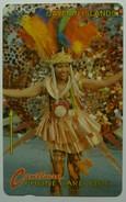 CAYMAN ISLANDS - GPT - CAY-8A - Carnival Costume - 8CCIA - $10 - White Strip - VF Used - Cayman Islands