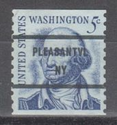 USA Precancel Vorausentwertung Preo, Bureau New York, Pleasantville 1304-81 - United States