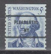 USA Precancel Vorausentwertung Preo, Bureau New York, Pleasantville 1304-81 - Precancels