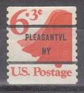 USA Precancel Vorausentwertung Preo, Bureau New York, Pleasantville 1518-81 - United States
