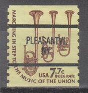 USA Precancel Vorausentwertung Preo, Bureau New York, Pleasantville 1614-87 - Precancels