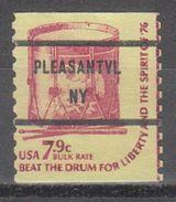 USA Precancel Vorausentwertung Preo, Bureau New York, Pleasantville 1615-81 - United States