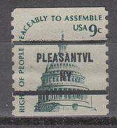 USA Precancel Vorausentwertung Preo, Bureau New York, Pleasantville 1616-81 - United States