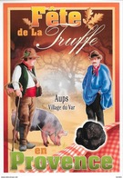 Fête De La Truffe - Aups Village Du Var - Werbepostkarten
