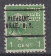 USA Precancel Vorausentwertung Preo, Locals New York, Pleasantville 705 - Vereinigte Staaten