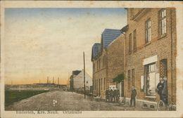 AK Meerbusch Büderich, Ortstraße, Um 1920, Stark Fleckig, Selten! (27781) - Meerbusch