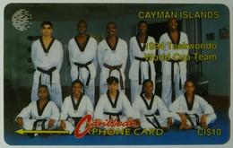 CAYMAN ISLANDS - GPT - CAY-9A - Taekwondo Team 94 - 9CCIA - $10 - White Strip - Used - Cayman Islands