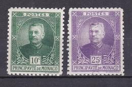 MONACO 1923 PRINCE LOUIS II  LOT DE 4 TIMBRES DU N°65 ET 68 * ET OBL. - Monaco