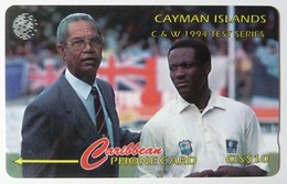 CAYMAN ISLANDS - GPT - CAY-12A - 1994 Test Series C&W - 12CCIA - $10 - Siver Strip - Used - Cayman Islands