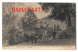 CPA - Le Moulin En 1907 - Attelage D'un Âne, Bien Animée - ORCHAISE ( Canton De Onzain - Arr. De Blois ) 41 Loir Et Cher - Blois