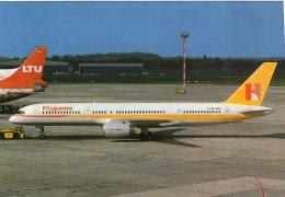 B44389  Avion - Aviation :   Hispania , Boeing 757 - Flugwesen