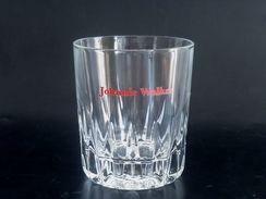 UNIQUE ! Johnnie Walker Scotch Whiskey Prism Base Beer Short Glass Tumbler - Glasses