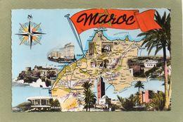 MAROC - Cartes Géographiques