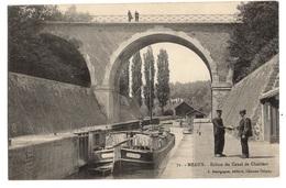 77 SEINE ET MARNE - MEAUX écluse Du Canal De Chalifert - Meaux