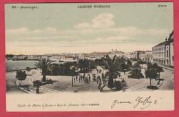 Portugal - Faro - Jardim Publico  - 1906 ( See Always Reverse ) - Faro