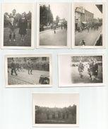 BOURGOIN - LYON - Libération - Lot Photos 16 Septembre 1944 -  Capitaine Rémy - De Gaule - Défilé Et Prise D'armes - Guerre, Militaire