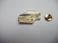 Arthus Bertrand , Auto Renault 19 Noire , Fond Or - Arthus Bertrand