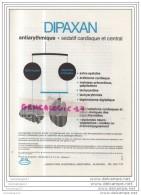 99 32 SANTE MEDICAMENT DIPAXAN Du LABORATOIRE CHANTEREAU INNOTHERA D' ARCUEIL SEINE 94 - Santé