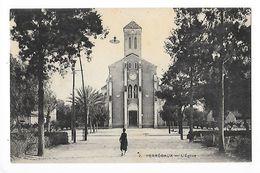 PERREGAUX  (mohammadia)   L'église -   - L 1 - Algérie