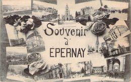 CPA Souvenir D'Epernay PI 1963 - Epernay