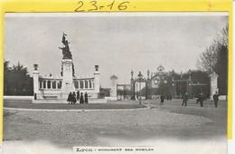 Militaria : LYON   ( Monument Des Mobiles ) Collection Des Bonbons Barnier à Rouen - Monumenti Ai Caduti