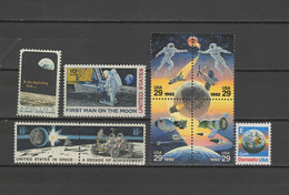 USA 1969/1992 Space Apollo 9 Stamps MNH - United States