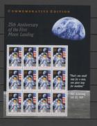 USA 1994 Space Apollo Sheetlet MNH - United States