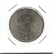 G3 Algeria 5 Dinars 1972. KM#105a 10th Anniversary Of Independence HIGH GRADE - Algeria