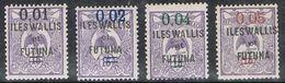 WALLIS-ET-FUTUNA N°26 A 29 N* - Neufs