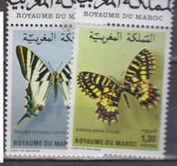 MAROC      1981           N    894 / 895        COTE    6 , 50  EUROS           ( 83 S ) - Morocco (1956-...)