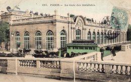 B44843 Paris,  La Gare Des Invalides - Non Classés