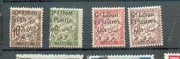 LIBAN 200 - YT Taxe 6 à 9 * - Grand Liban (1924-1945)
