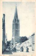 CPA Bernières-sur-Mer L'église (animée) PI 2312 - Autres Communes
