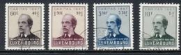 Luxembourg - 1947 - Caritas Michel Lentz Set - Cancelled - Luxemburg