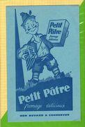 BUVARD & Blotting Paper : Petit Patre Fromage Delicieux - Dairy