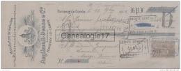 85 373 FONTENAY DE COMTE VENDEE 1912 Manufacture De Galoches  ANGIBAULT - DESSE Succ LEPELTIER CLAVELE TAILLANDIER - Lettres De Change